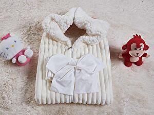 Купить конверт для новорожденных KAZANOV.A. Infanty с капюшоном, молоко