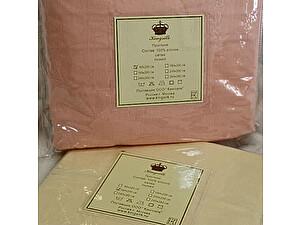 Простыня на резинке Kingsilk розовая, 90х200 см