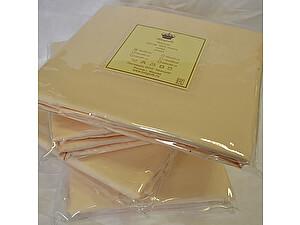 Простыня на резинке Kingsilk кремовая, 160х200 см