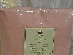 Простыня Kingsilk розовая, 260х280 см