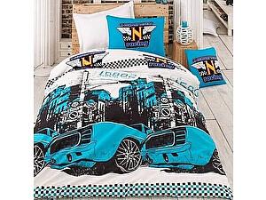 Купить постельное белье Saba Home SH-46 Тачки, синий