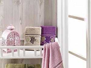 Набор из 6-ти полотенец DO&CO Cinar Soft 50х90 см