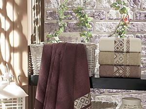 Набор из 4-х полотенец DO&CO Camellia 70х140 см