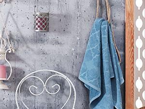 Набор из 4-х полотенец DO&CO Crystar 50х90 см