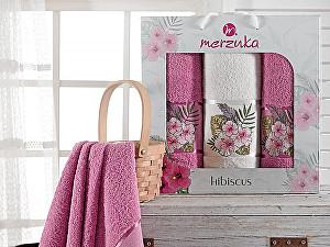 Комплект из 3-х полотенец Merzuka Hibiscus