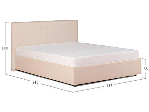 Купить кровать Moon Trade Космопорт с подъемным механизмом Модель 382 Суфле