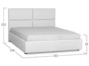Купить кровать Moon Trade Риальто с подъемным механизмом Модель 582 Марципан