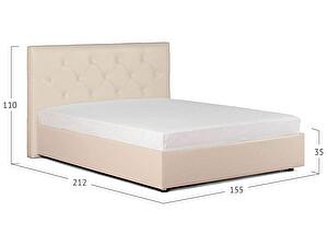 Кровать Moon Trade Монблан Модель 383 Суфле с основанием
