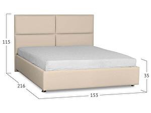Кровать Moon Trade Риальто Модель 582 Суфле с основанием