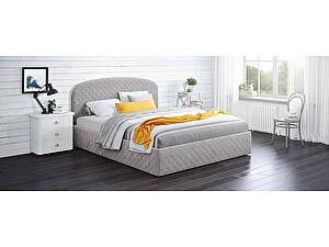 Купить кровать Moon Trade Аллегра 140х200 Модель 1204 (серый) с подъемным механизмом
