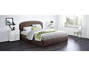 Купить кровать Moon Trade Аллегра 140х200 Модель 1204 (коричневый) с подъемным механизмом