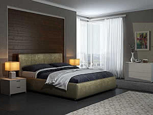 Купить кровать Орма - Мебель Veda 3 (экокожа цвета люкс)