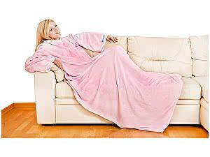 Купить плед Sleepy Original с рукавами, розовый