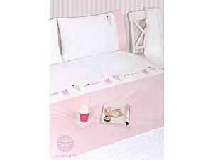 Детское постельное белье Luxberry Icecream, простыня на резинке