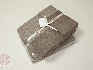 Купить полотенце Luxberry Palma стежок махра, табачный