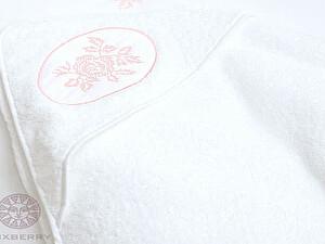 Купить полотенце Luxberry с капюшоном Rose