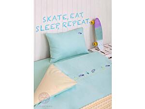 Купить комплект Luxberry Skateboys, простыня без резинки