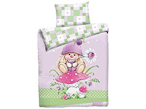 Детское постельное белье Mona Liza Зайка-гном + плед!