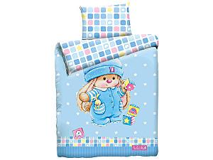 Детское постельное белье Mona Liza Зайка с кубиками