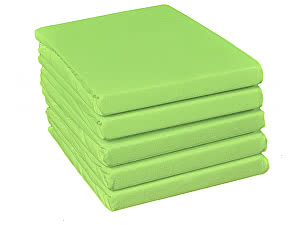 Купить простынь Fussenegger арт. 5008, светло-зеленая