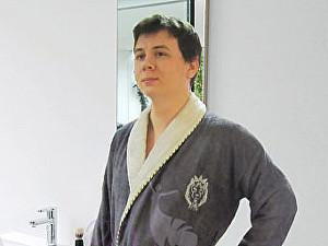 Купить халат Primavelle Lion, темно-серый