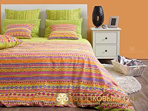 Постельное белье Хлопковый край Танзания, лайм