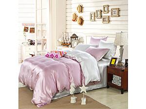 Постельное белье Luxe Dream Elite Розово-кремовый-Светло-серебряный