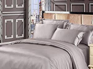 Постельное белье Luxe Dream Серебро
