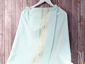 Купить полотенце Dome Harmonika с вышивкой 70х140 см, ментол