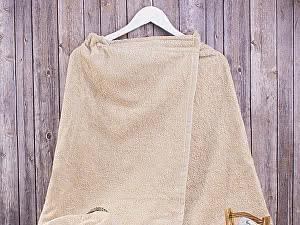 Купить полотенце Dome Harmonika 70х140 см, бежевый
