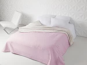 Купить плед Sleep iX Multi Blanket, розовый/молочно-серый