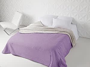 Купить плед Sleep iX Multi Blanket, фиолетовый/молочно-серый