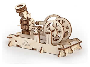 Купить конструктор Ugears Пневматический двигатель