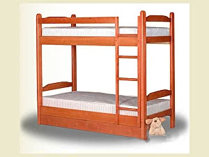 Купить кровать ВМК-Шале Антошка  двухъярусная