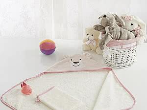 Купить полотенце Sofi De Marko Fanny с мочалкой, св.роз