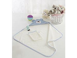 Купить полотенце Sofi De Marko Fanny с мочалкой, голуб