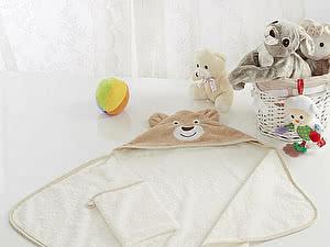 Купить полотенце Sofi De Marko Fanny с мочалкой, беж