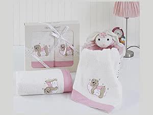 Набор из 2-х детских полотенец Sofi De Marko Bombino, св.роз