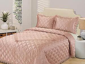 Купить плед Sofi De Marko Симона, светло-розовое с наволочками