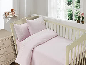 Купить постельное белье Sofi De Marko Кружево из облаков, розовый