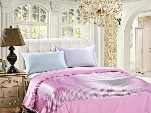 Купить простынь Sofi De Marko Рэйнольд 150х210 см, розовая