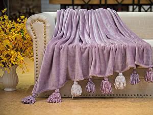 Купить плед Sofi De Marko Tassel №7, фиолетовый