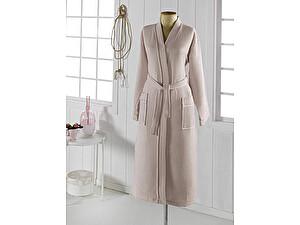 Купить халат Sofi De Marko Neva кимоно вафельный, бежевый