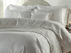 Постельное белье Gelin Home с покрывалом, Elmas лиловый