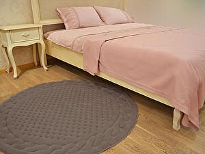 Купить коврик Gelin Home Erguvan круглый 120 см, тёмно-коричневый