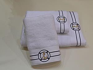 Купить полотенце SoftCotton Marine 50х100 см, белый