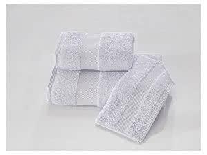Купить полотенце SoftCotton Deluxe, голубой