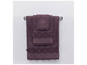 Купить полотенце SoftCotton Yonca 50х100 см, фиолетовый