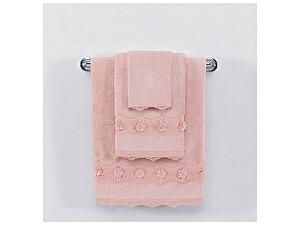 Купить полотенце SoftCotton Yonca 50х100 см, тёмно-розовый
