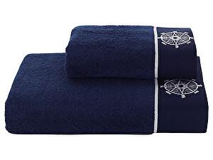 Купить полотенце SoftCotton Marine Lady 50х100 см, тёмно-синий